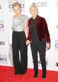 Portia De Rossi Photo - 18 January 2017 - Los Angeles California - Portia de Rossi Ellen Degeneres 2017 Peoples Choice Awards Press Room held at the Microsoft Theater Photo Credit Birdie ThompsonAdMedia
