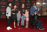 Kyla Kenedy Photo - 09 December 2017 - Los Angeles California -  Mason Cook Kyla Kenedy Walter Bowie his father John Ross Bowie his daughter Nola Bowie and actors Micah Fowler and Cedric Yarbrough Premiere Of Disney Pictures And Lucasfilms Star Wars The Last Jedi held at The Shrine Auditorium Photo Credit F SadouAdMedia