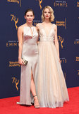 Allie Evans Photo - 09 September 2018 - Los Angeles California - Christa B Allen Allie Evans 2018 Creative Arts Emmy Awards - Arrivals held at Microsoft Theater Photo Credit Birdie ThompsonAdMedia