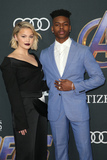 Aubrey Joseph Photo - 22 April 2019 - Los Angeles California - Olivia Holt Aubrey Joseph Marvel Studios Avengers Endgame Los Angeles Premiere held at Los Angeles Convention Center Photo Credit F SadouAdMedia