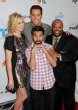 Joshua Gomez Photo - 1 August 2011 - Los Angeles California - Yvonne Strahovski Zachary Levi Joshua Gomez and Mark Christopher Lawrence NBC Universal TCA 2011 Press Tour All-Star Party held at the SLS Hotel Photo Credit Byron PurvisAdMedia