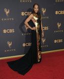 Amanda Brugel Photo - 17 September  2017 - Los Angeles California - Amanda Brugel 69th Annual Primetime Emmy Awards - Arrivals held at Microsoft Theater in Los Angeles Photo Credit Birdie ThompsonAdMedia