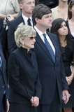 The Ceremonies Photo - Washington DC - August 29 2009 -- Jean Kennedy Smith the last surviving sibling of former US Senator Edward M Ted Kennedy (Democrat of Massachusetts) left and her son William Kennedy Smith right at the ceremony at the US Capitol on Saturday August 29 2009Credit Ron Sachs  CNP(RESTRICTION NO New York or New Jersey Newspapers or newspapers within a 75 mile radius of New York City)AdMedia