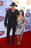 Trace Adkins Photo - 10 December 2013 - Las Vegas Nevada - Trace Adkins Danica Patrick 2013 American Country Awards Arrivals at Mandalay Bay Resort Hotel and Casino Photo Credit mjtAdMedia