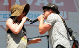 Shawna Thompson Photo - 10 June 2016 - Nashville Tennessee - Thompson Square Shawna Thompson and Keifer Thompson 2016 CMA Music Festival Riverfront Stage Photo Credit Dara-Michelle FarrAdMedia