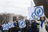 The National Photo - People gather for the March for Life on the National Mall in Washington DC US on Friday January 24 2020Credit Stefani Reynolds  CNPAdMedia