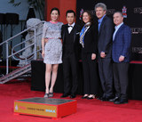 Alan Horne Photo - 30 November 2016 - Hollywood California Cissy Wang Donnie Yen Kathleen Kennedy Alan Horn Alan Bergman   Donnie Yen Hand And Footprint Ceremony held at TCL Chinese Theater Photo Credit Birdie ThompsonAdMedia