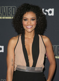 Annie  Ilonzeh Photo - 22 February 2018 - Hollywood California - Annie Ilonzeh USA Networks Unsolved The Murders of Tupac  The Notorious BIG held at Avalon Hollywood Photo Credit F SadouAdMedia