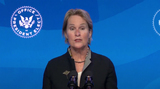 Queen Photo - Dr Frances H Arnold Co-Chair of the Presidents Council of Advisors on Science and Technology (PCAST) speaks after United States President-elect Joe Biden made remarks announcing him and other Key Members of White House Science Team from the Queen Theatre in Wilmington Delaware on Friday January 15 2021 Credit Biden Transition TV via CNPAdMedia
