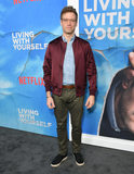 Barrett Foa Photo - 16 October 2019 - Hollywood California - Barrett Foa Netflixs Living With Yourself Season 1 Los Angeles Premiere held at the Arclight Hollywood Photo Credit Birdie ThompsonAdMedia