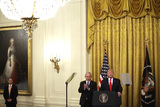 Benjamin Netanyahu Photo - United States President Donald J Trump meets with Israels Prime Minister Benjamin Netanyahu during a meeting in the East Room of the White House in Washington DCon Tuesday January 28 2020 Credit Joshua Lott  CNPAdMedia