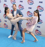 Artem Chigvintsev Photo - 11 August 2019 - Hermosa Beach California - Nikki Bella Brie Bella Artem Chigvintsev The Bella Twins FOXs Teen Choice Awards 2019 held at Hermosa Beach Pier Photo Credit PMAAdMedia
