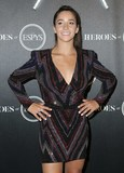 Aly Raisman Photo - 17 July 2018 - Los Angeles California - Aly Raisman HEROES at The ESPYS held at City Market Social House   Photo Credit PMAAdMedia