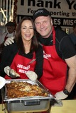 David Hunt Photo - 26 November 2014 - Los Angeles Patricia Heaton David Hunt 2014 LA Missions Annual Thanksgiving for the Homeless Held at The Los Angeles Mission Photo Credit FSadouAdMedia
