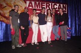 Ashley Lyn Cafagna Photo -  Chris Owen Danny Nucci Natalie Raitano Jason Cook Ashley Lyn Cafagna and Jay Kenneth Johnson at Universals Ultimate Graduation party in Hollywood to celebrate the release of AMERICAN PIE on videotape and DVD 05-15-00