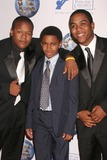 Avery Johnson Photo - Kyle Massey with Avery Johnson Jr and Christopher Massey at the 2008 World Magic Awards Barker Hanger Santa Monica CA 10-11-08