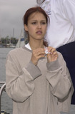 Jessica Alba Photo -  JESSICA ALBA at the celebrity sail for the Planetary Coral Reef Foundation Marina Del Ray  06-20-01 at the celebrity sail for the Planetary Coral Reef Foundation Marina Del Ray 06-02-01