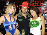 Tiffany Photo - Rena Riffel with Jeffrey Vincent Parise and Tiffany Shepis at the Fangoria Convention Los Angeles Convention Center Los Angeles CA 04-25-08