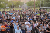 Angel City Photo - Atmosphereat the Bat Signal Lighting Ceremony to honor Adam West Los Angeles City Hall Los Angeles CA 06-15-17