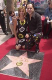 KC and the Sunshine Band Photo - Karry Wayne KC Casey and Sevina at KC and The Sunshine Band induction ceremony into Hollywoods Walk of Fame Hollywood Blvd CA 08-02-02
