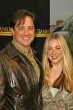 Afton Smith Photo - Brendan Fraser and wife Afton Smithat the King Tut Returns to LACMA for a Five-Month Engagement LACMA Los Angeles CA 06-15-05