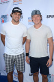 Anze Kopitar Photo - Anze Kopitar Tyler Toffoliat Clayton Kershaws Ping Pong 4 Purpose Celebrity Tournament to Benefit Kershaws Challenge Dodger Stadium Los Angeles CA 08-11-16