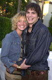 Ashley Scott Photo - Ashley Scott and Ashton Kutcher at the premiere of Paramounts The Score at Paramount Studios Hollywood 07-09-01