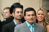 Casey Kasem Photo - Mike Kasem with Casey Kasem and Amy Petersonat the Ceremony honoring Mike Curb with a star on the Hollywood Walk of Fame Vine St Hollywood CA 06-29-07