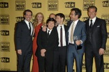 HANGOVER CAST Photo - Todd Phillips with The Hangover Cast Members Ken Jeong Ed Helms Heather Graham Justin Bartha and Bradley Cooperat the 15th Annual Critics Choice Awards Hollywood Palladium Hollywood CA 01-15-10