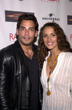 Angelica Castro Photo - Cristian De La Fuente and wife Angelica Castro at the launch party for the DVD release of Universals The Scoprion King at the Virgin Megastore West Hollywood CA 09-30-02