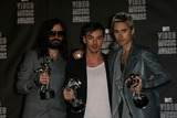 30 Seconds to Mars Photo - 30 Seconds to Marsat the 2010 MTV Video Music Awards Press Room Nokia Theatre LA LIVE Los Angeles CA 08-12-10 at the 2010 MTV Video Music Awards Nokia Theatre LA LIVE Los Angeles CA 08-12-10