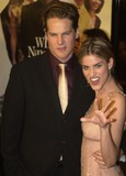 Amanda Peet Photo -  Brian Van Holt and Amanda Peet at the premiere of Warner Brothers The Whole Nine Yards in Century City 02-17-00