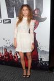 Nadia Hilker Photo - Nadia Hilkerat The Walking Dead Season 9 Premiere Event DGA Los Angeles CA 09-27-18