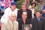 KC and the Sunshine Band Photo - Michael Lloyd Dick Clark Johnney Grant Karry Wayne KC Casey and Leron Gubler at KC and The Sunshine Band induction ceremony into Hollywoods Walk of Fame Hollywood Blvd CA 08-02-02