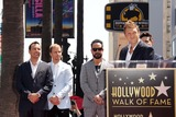 AJ MCLEAN Photo - Howie Dorough Brian Littrell AJ McLean Nick Carterat the Backstreet Boys Star on the Walk of Fame Hollywood CA 04-22-13