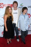 Allie Grant Photo - Allie Grant with Hunter Parrish and Alexander Gouldat the season two premiere of Weeds Egyptian Theatre Hollywood CA 07-19-06