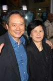 Ang Lee Photo - Ang Lee and wife at the world premiere of Universals The Hulk at Universal Studios Universal City CA 06-17-03