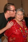 ANN V Photo - Anne V Coates gets a kiss