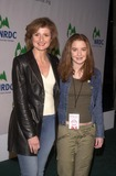 Arianna Huffington Photo - Arianna Huffington  Daughter Christina at the NRDCs Fight Global Warming Concert with the Rolling Stones Staples Center Los Angeles CA  02-06-03