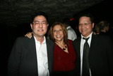 Sophia Santi Photo - Gregory Hatanaka Sophia Santi and Edwin Santosat the Playback Wrap Party House of Blues West Hollywood CA 04-04-10