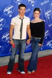 Andrew Lawrence Photo - Andrew Lawrence and Ashley Schneider at the American Idol Season Finale Universal Amphitheater in Universal City CA 05-21-03