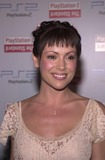 Alyssa Milano Photo - Alyssa Milano at the grand opening of the PlayStation 2 Hotel at the Standard in downtown Los Angeles as part of the 2002 E3 conference 05-21-02