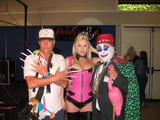 Beverly Garland Photo - Mona with Count Smokula and a weird dudeat the DomCon LA 2005 Beverly Garland Holiday Inn North Hollywood CA DailyCelebcom 818-249-4998