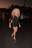 Afida Turner Photo - Afida Turnerthe French Singer and daughter-in-law of Tina Tuner is spotted out doing some holiday shopping in Los Angeles CA 11-30-17