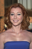 Alyson Hannigan Photo -  ALYSON HANNIGAN at the premiere of Universals American Pie 2 at Manns National Theater Westwood 08-06-01