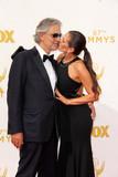 Andrea Bocelli Photo - Andrea Bocelliat the 67th Annual Primetime Emmy Awards Arrivals Microsoft Theater Los Angeles CA 09-20-15