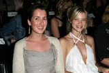 Anna Getty Photo - Anna Getty and Amy Smart at the Rami Kashou Fashion Show as part of Mercedes Benz Fashion Week Smashbox Studios Los Angeles CA 03-30-04