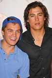 Andrew Keegan Photo - Emile Hirsch and Andrew Keegan at the Geek Squad National Launch event Arclight Theaters Hollywood CA 09-22-04