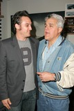 Alex A Quinn Photo - Alex Quinn and Jay Lenoat a party before a Katrina Wilma and Rita Hurricane relief Auction benefitting Save the Children Automotive Legends Malibu CA 11-11-05