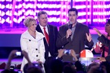 Adam Carolla Photo - Britney Spears and Adam Carolla  at the Debut of LA Lives Light of Angels LA Live Los Angeles CA 12-04-08
